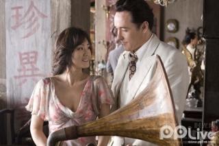 John Cusack i Gong Li