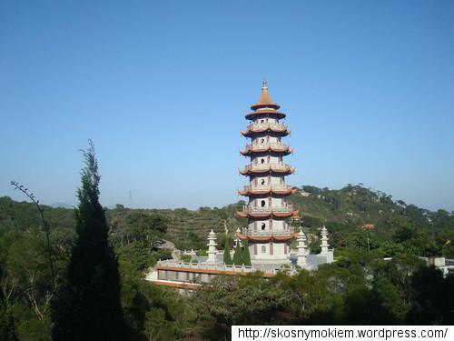 Widok z muzeum rewolucji kulturalnej w Shantou