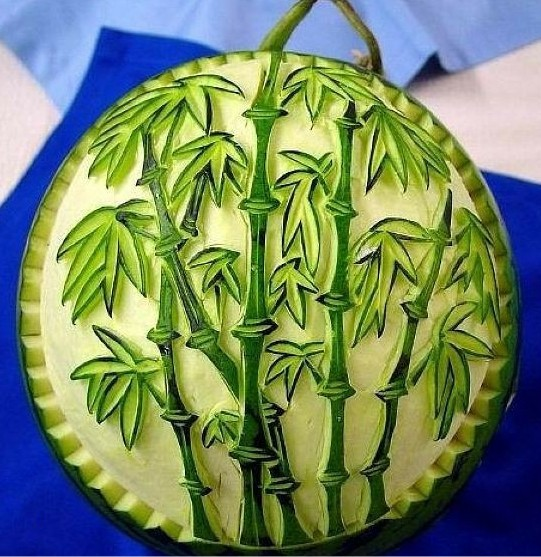 西瓜很忙雕刻_Xiguahenmang_watermelon_scuplture_carvings_china_arbuz_rzezby_chiny_21