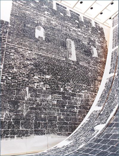 Xu Bing Ghosts Pounding the Wall