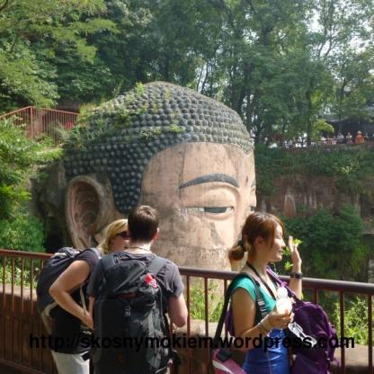 02_乐山大佛_giant_Leshan_Buddha_大佛头02_head02