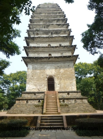 05_乐山大佛灵宝塔_giant_Leshan_Buddha_Lingbao_pagoda