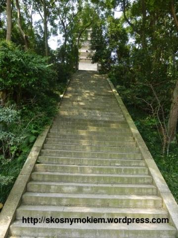 06_乐山大佛灵宝塔楼梯_giant_Leshan_Buddha_Lingbao_pagoda_stairs