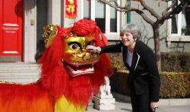Theresa May and Hidden dragon source daily express